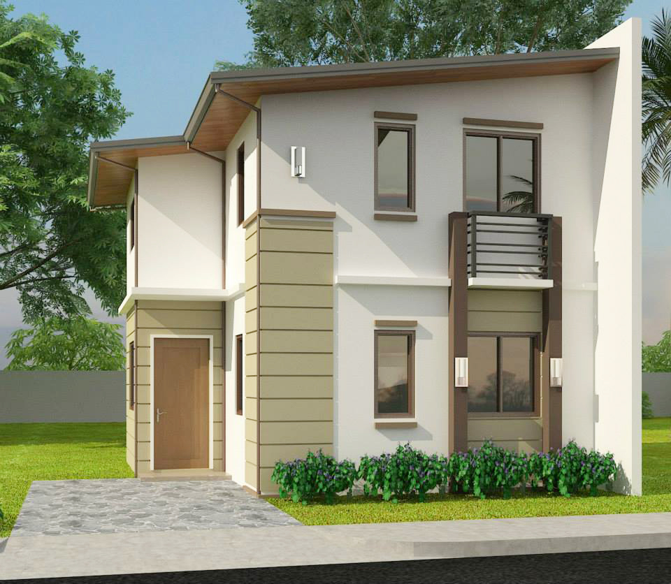House design for 80 sqm lot area - Kayla Basic 59 Sqm